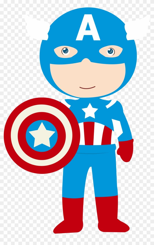 Cat Superhero, Superhero Clipart, Printable, Craft, - Capitao America Baby Png #103733