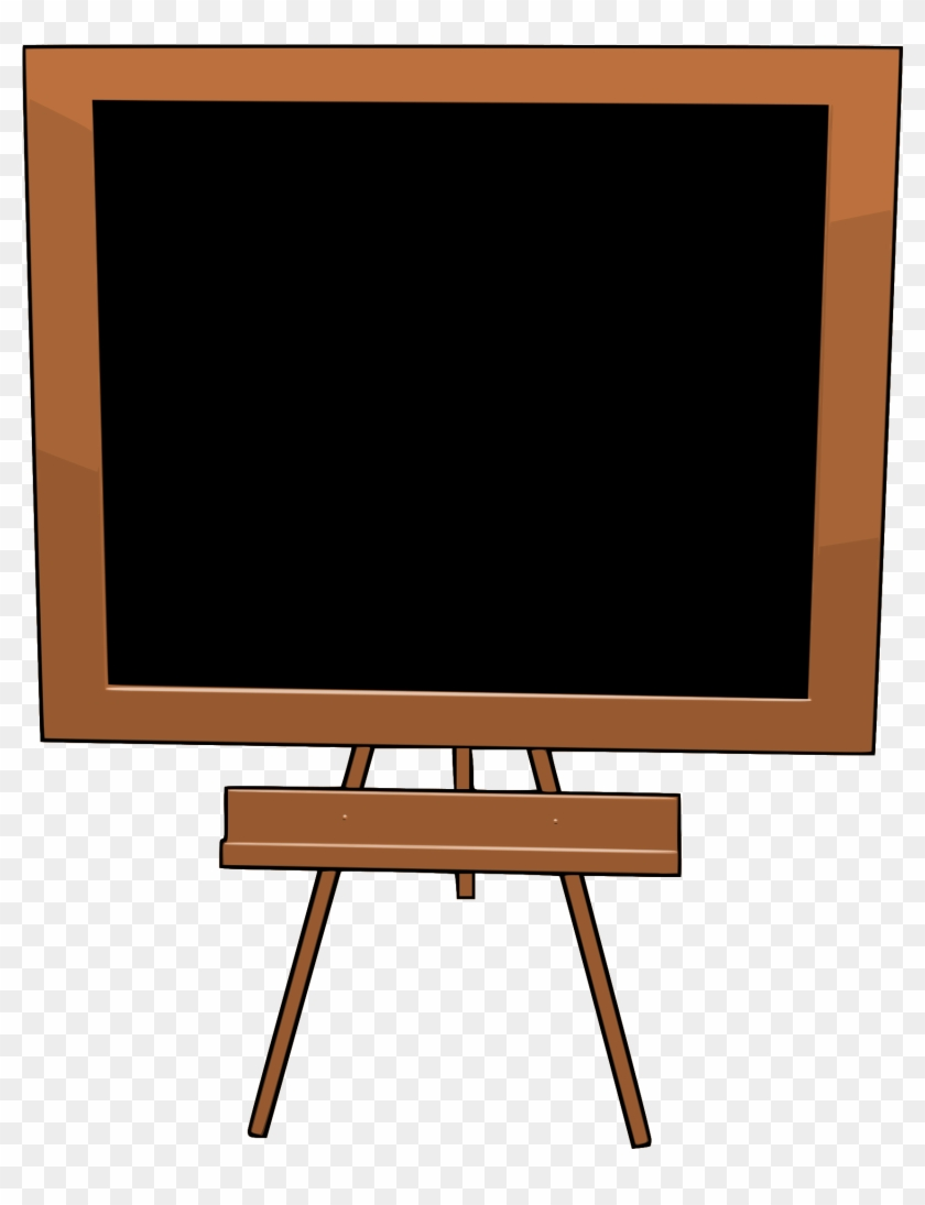 Chalkboard Free To Use Clip Art - Television Set #103740
