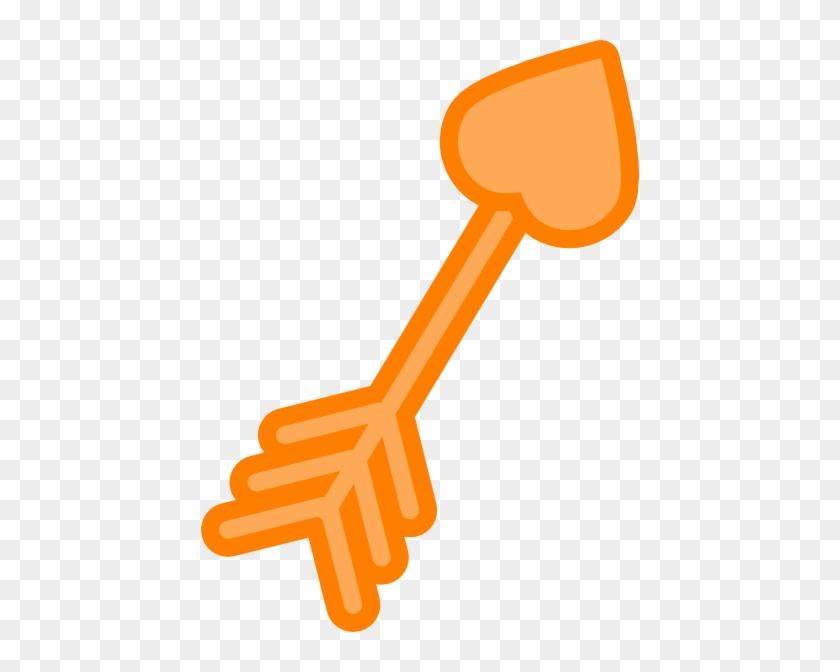 Orange Arrow Clip Art - Clip Art #103760