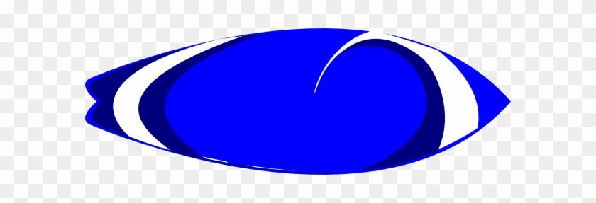 Blur Clipart Surfboard - Circle #103808