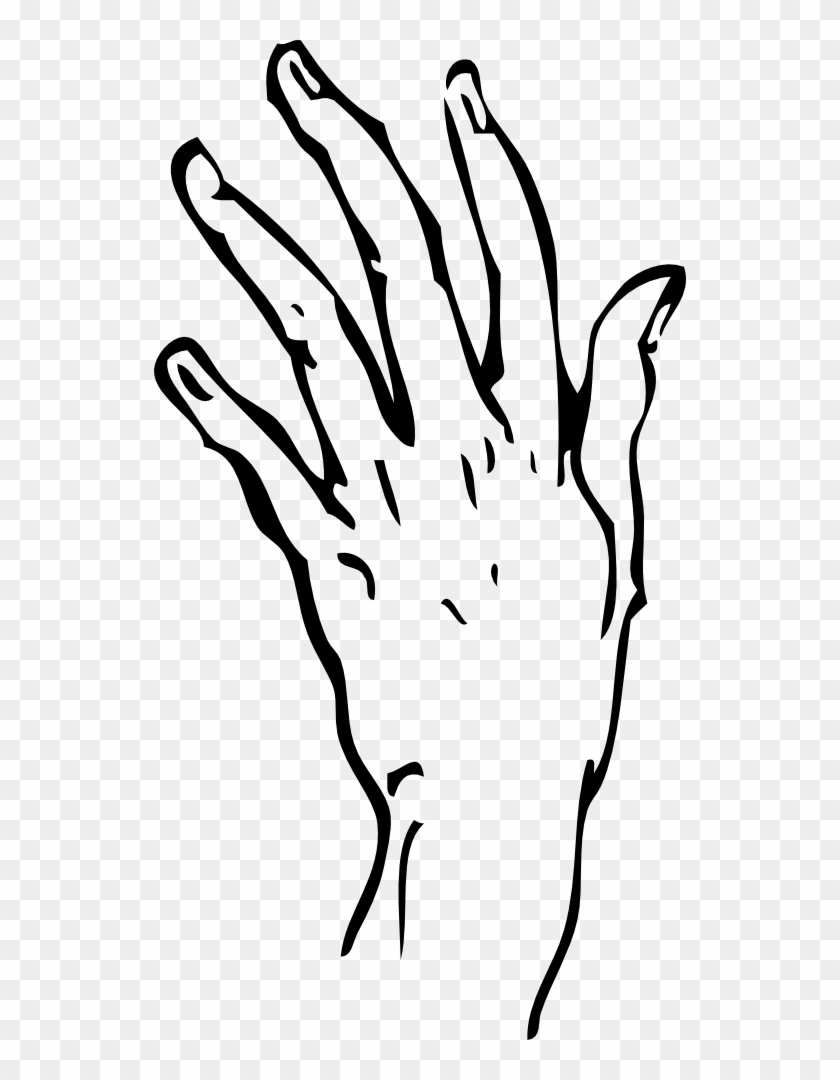 Circuit Board Clipart - Hand Line Drawing Transparent #103863