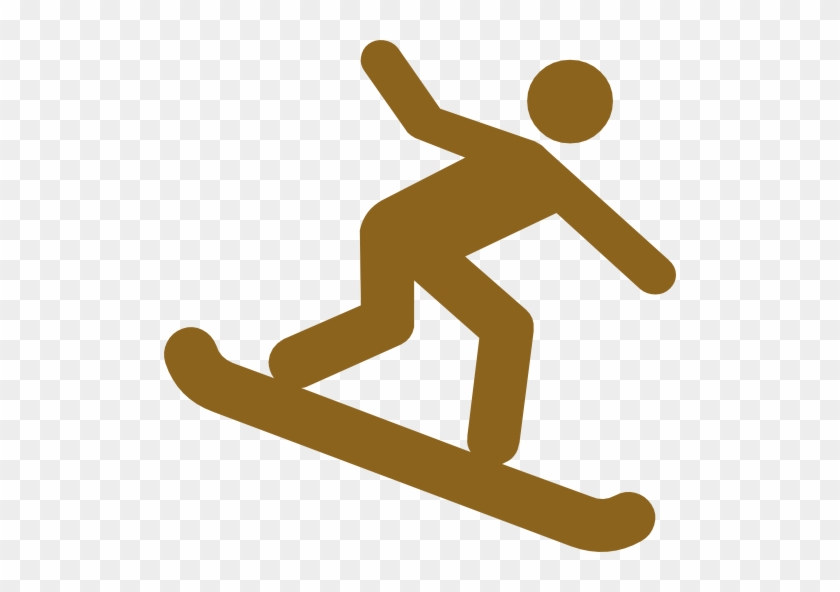 Sand Board Clipart - Surfing Icon #103864