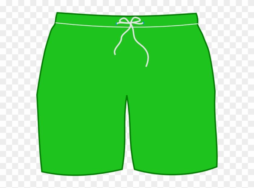 T-shirt Shorts Swimsuit Trunks Clip Art - Shorts Clipart #103868