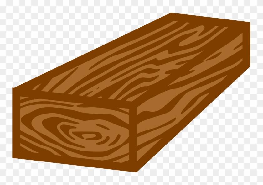Big Image - Block Of Wood Clip Art #103875