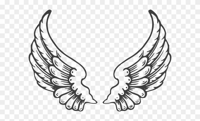 Clipart Info - Angel Wings Cut Out #103942