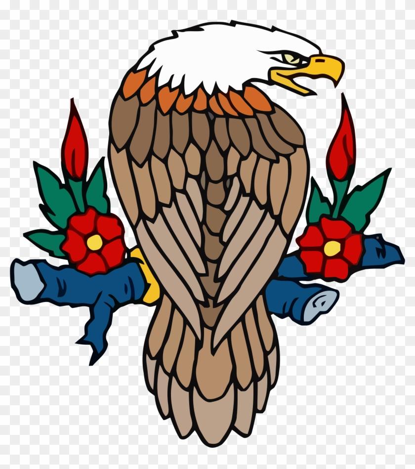 Bald Eagle Free To Use Clipart - Gambar Animasi Burung Garuda Sangar #103963
