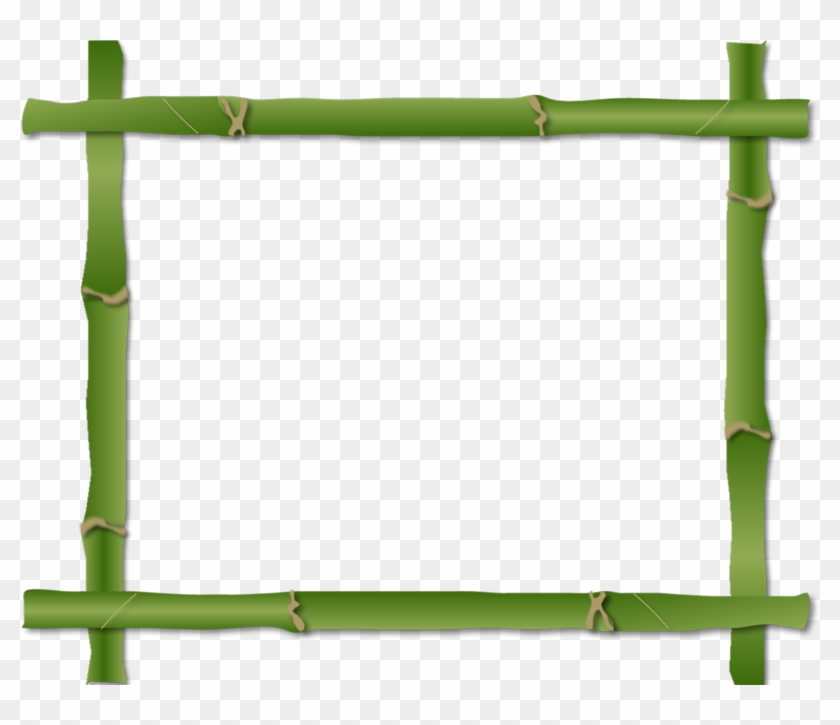 Borders And Frames Bamboo Clip Art - Borders And Frames #103972