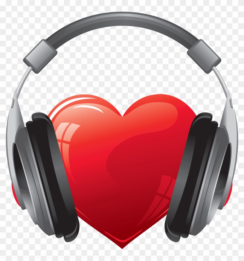 Heart Headphones Png #104012