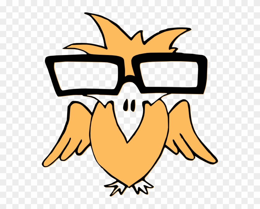 Golden Eagle Clip Art - Bird With Glasses #104024