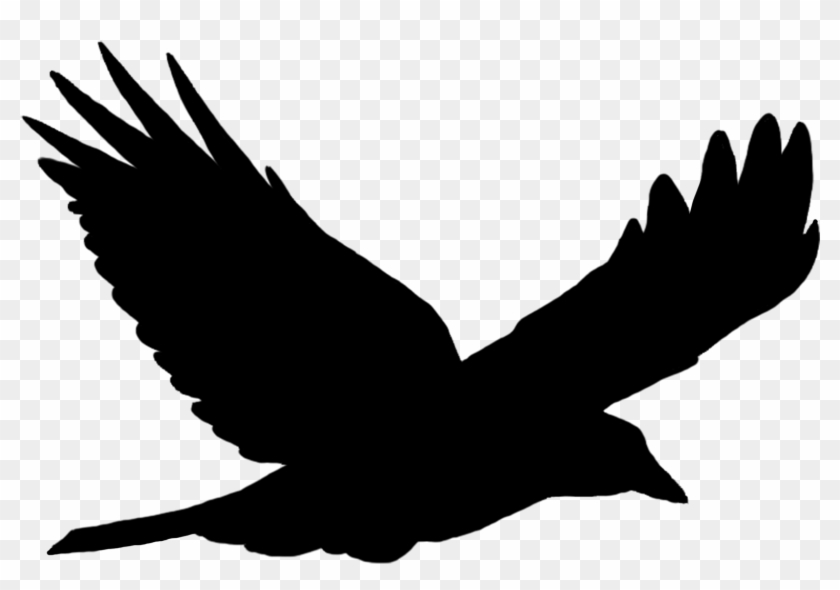 Flying - Bird Silhouette Vector Free #104062