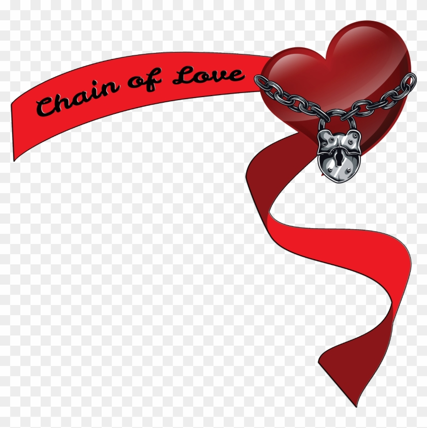 Take A Chance Chain Of Love Banner Logo - Chain Of Love #104128
