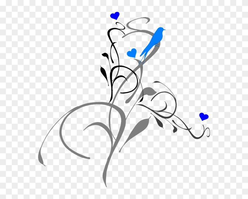 Blue Birds Tattoo Design #104130