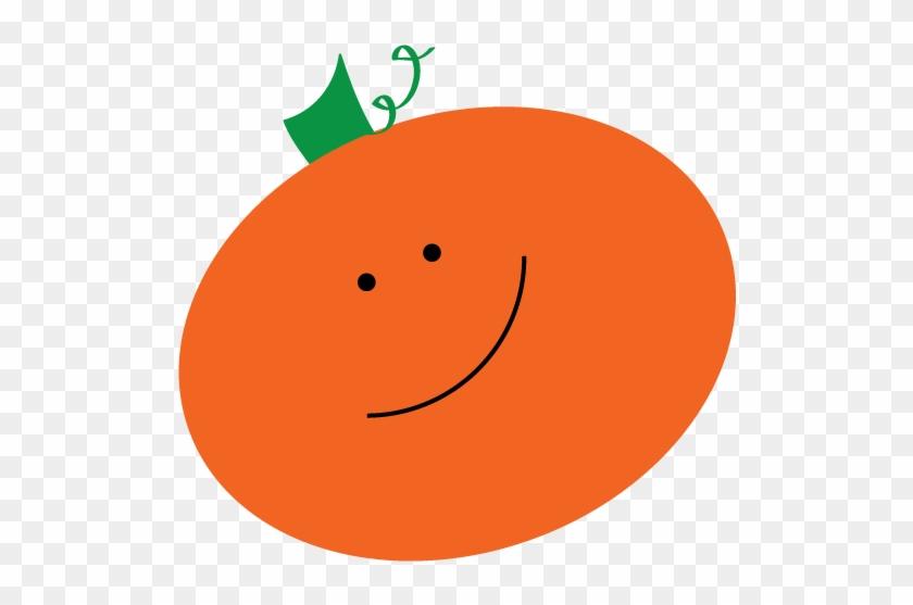 Cute Halloween Pumpkin Clip Art Free - Cute Clipart Orange #104172