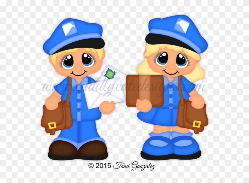 Career Cuties - Mail Carrier - Paper #104413