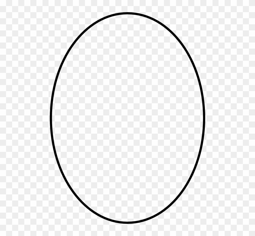 Pretty Design Oval Clipart Outline Clip Art At Clker - Black Circle Png #104427
