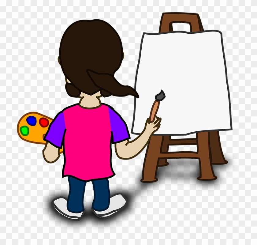 Who Is In The Picture Artist - Painter Clipart #104456