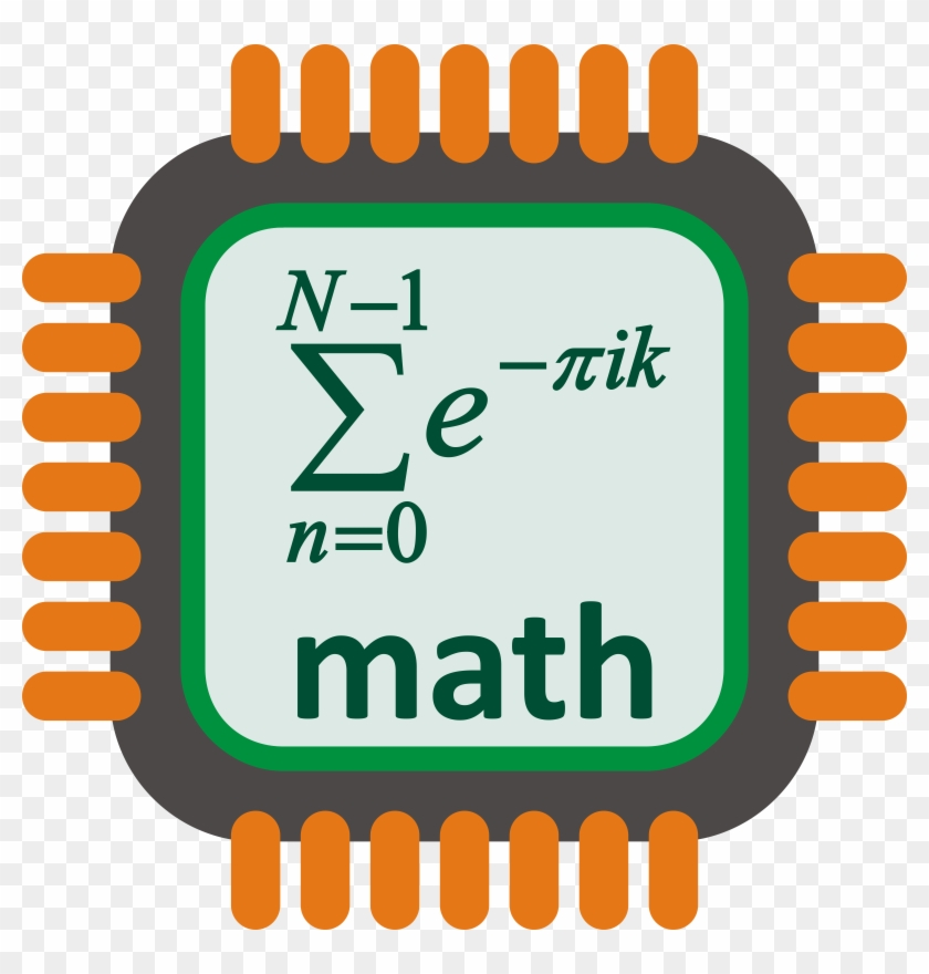 Math Clip Art For Middle School Free Clipart Images - Computer Chip Vector Png #104498