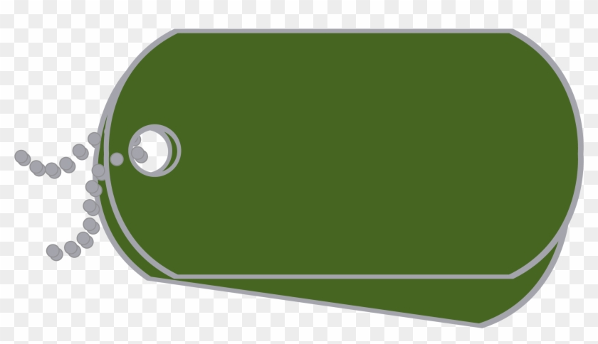 Explore - Green Military Dog Tags #104596