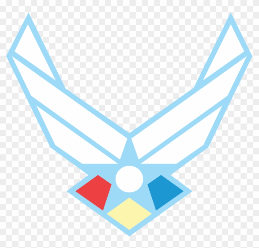 Clip Art Of Air Force Logo Clipart - Us Air Force Logo Transparent Background #104628