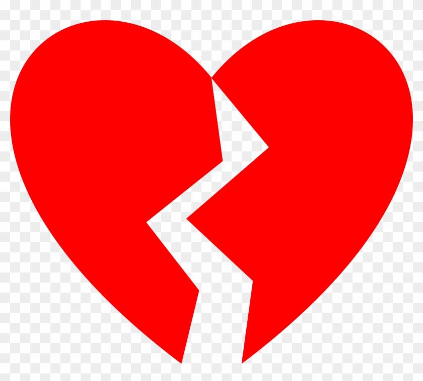 Big Image - Broken Heart Clipart #104718