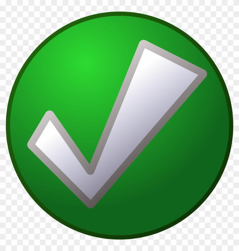 Green Tick #104726