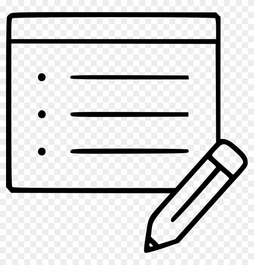 Note Blank Information Pencil Notepad Reminder List - Prendre Note #104729