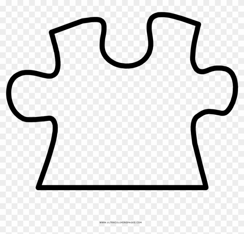 Special Puzzle Piece Coloring Page Ultra Pages - Line Art #104777