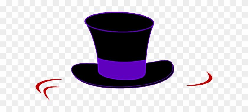 Top Hat Clipart Black Top Hat Clip Art At Clker Vector - Top Hats Clip Art #104790