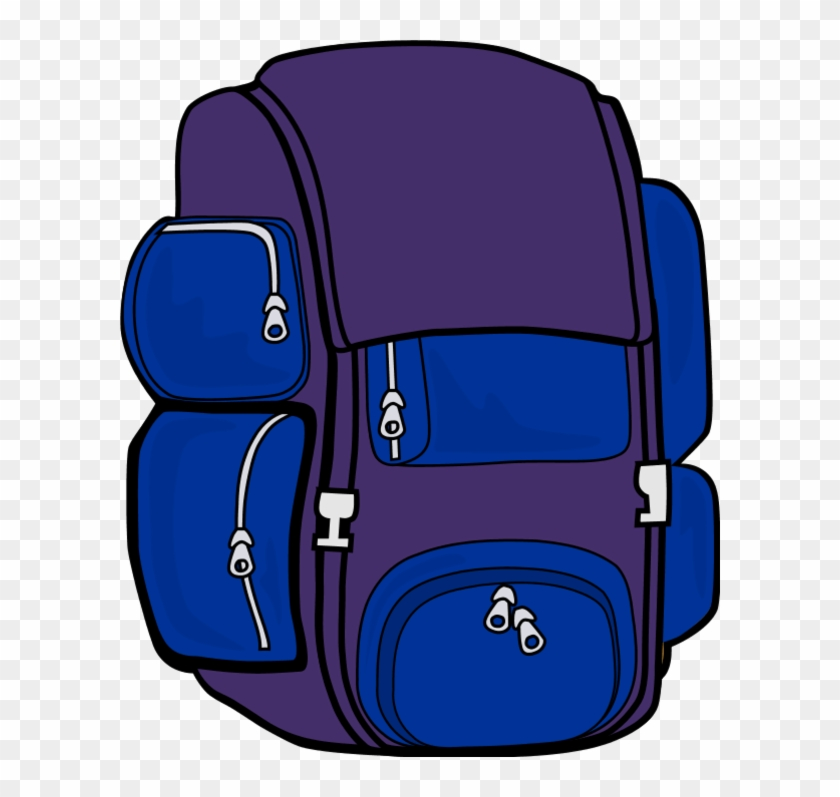 School Backpack Clipart Free Images 2 - Backpack Clip Art #104833
