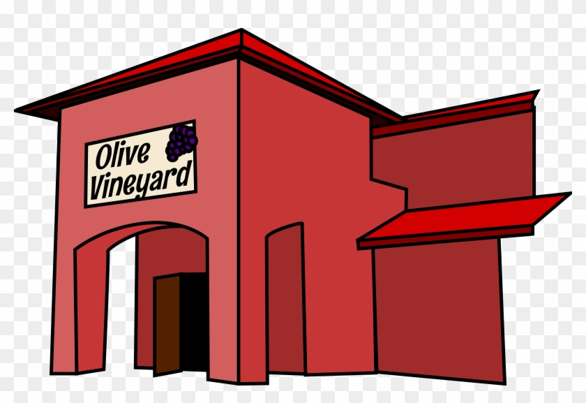 Restaurant - Clip Art Restaurant Building #104875