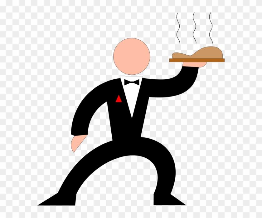 Clip Art Waiter - Waiter Clip Art #104886