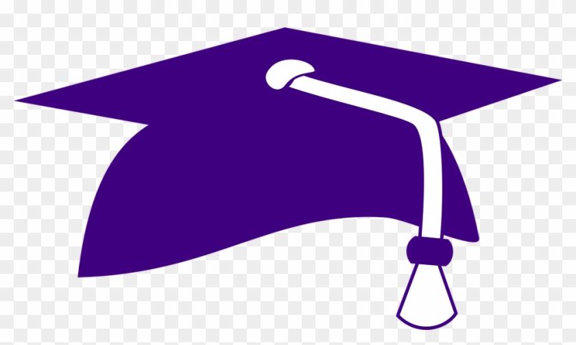 Hat Clipart Student - Red Graduation Hat Transparent Background #104890
