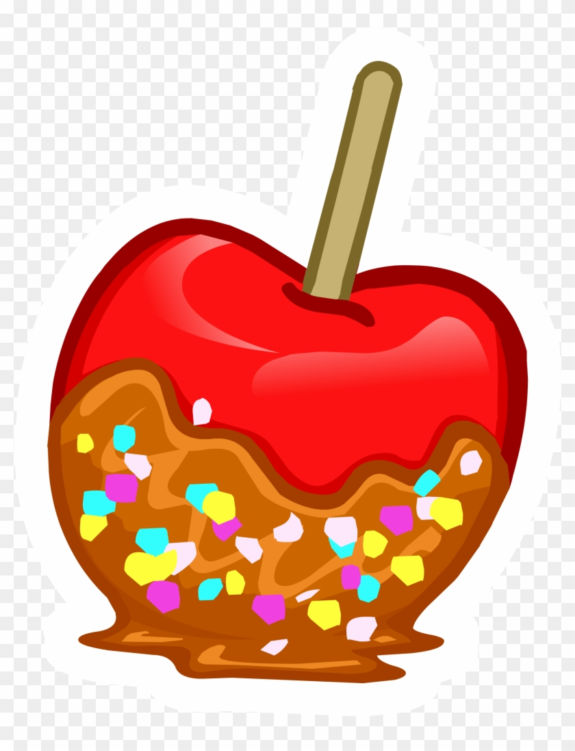 Funny - Candy Apple Clipart #104921