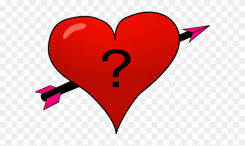 Heart Clipart Question Mark - Heart With A Question Mark #104939