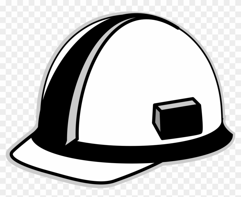 687d8bc241f Trends For Cowboy Hat Clip Art Black And White - Hard Hat Vector Free   104958