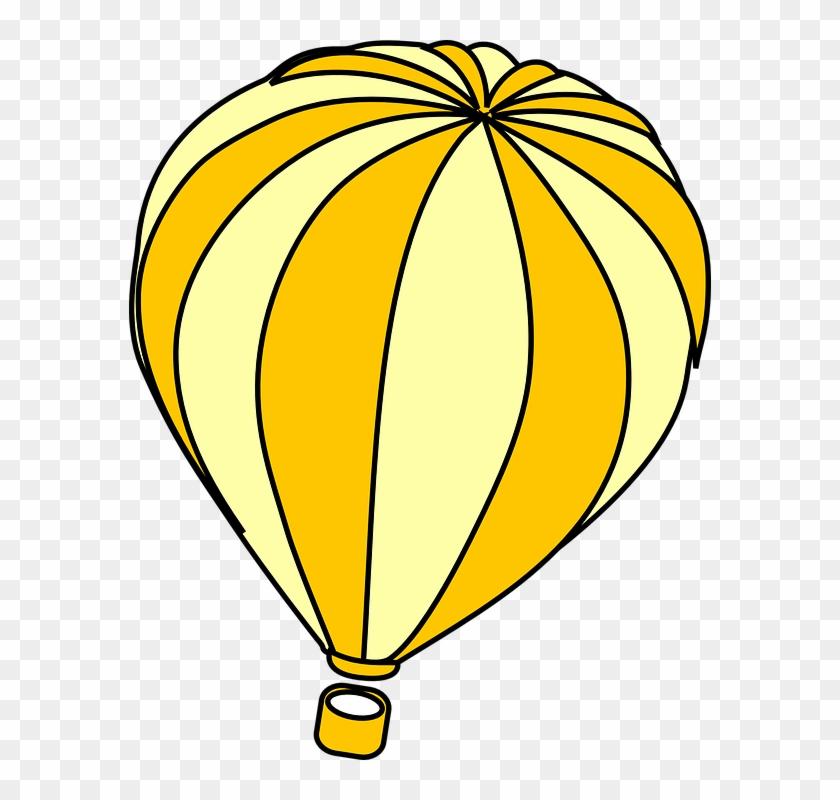 Hot Air Balloon Clip Art Moving #104993
