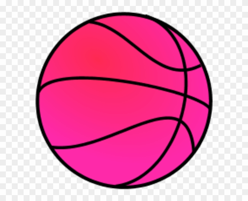 Clipart Pink Ball Basket Cliparts Free Download Clip - Blue Basketball Clip Art #104998