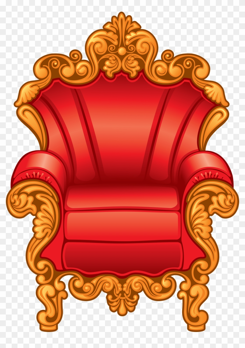 Armchair Png Image - Throne Clipart Transparent #105016