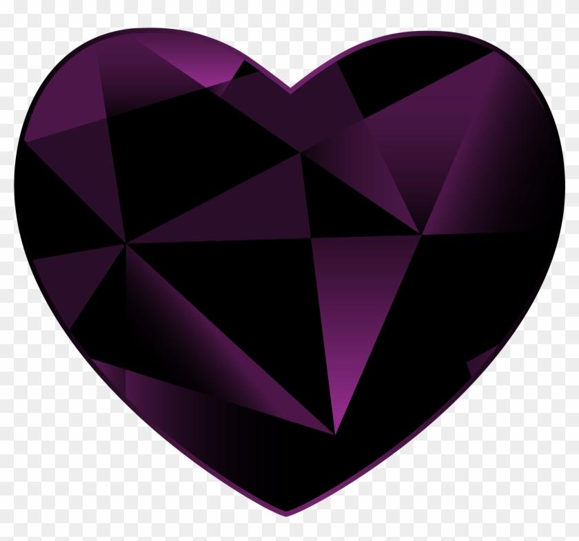 Gem Heart Png Clipart - Romance #105080