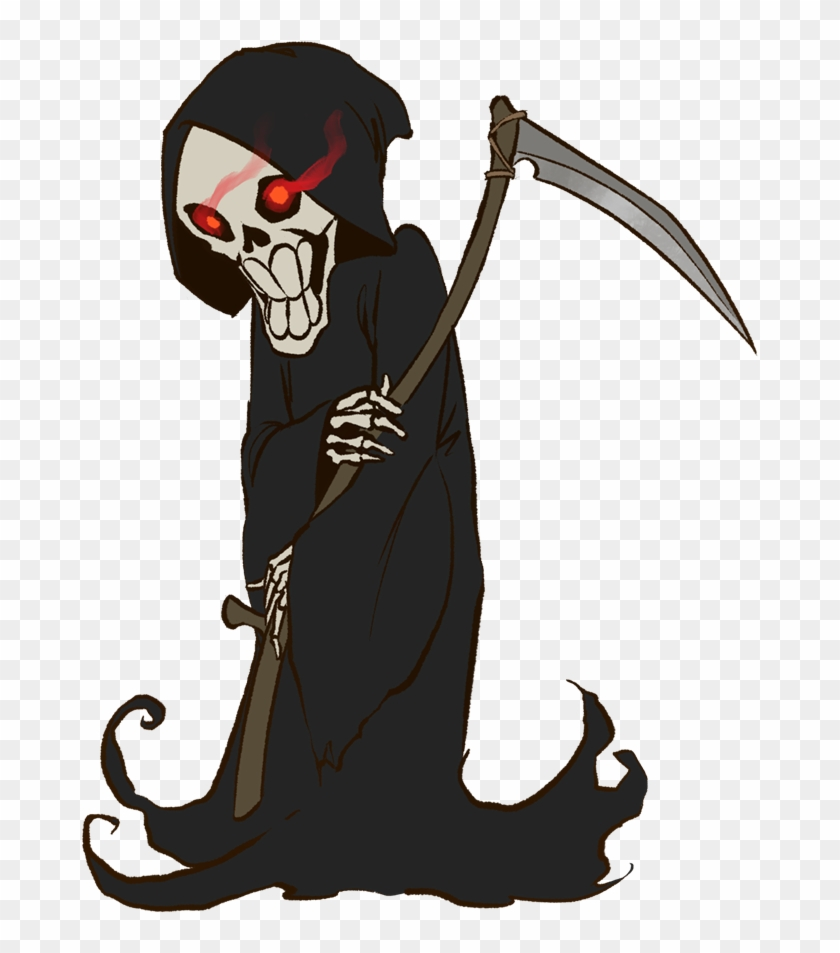 Free To Use Public Domain Halloween Clip Art - Halloween Grim Reaper Clipart #105184