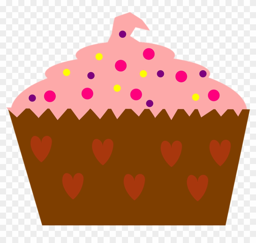Love, Pink, Hearts, Valentine, Sweet - Cupcake Recipes For A Dessert Party: 110 Page 8x10 #105252