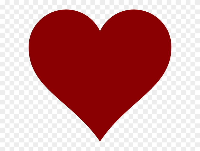 Red Heart Clipart Png #105262