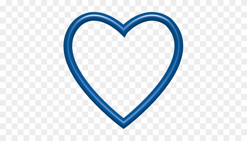 Simple Blue Heart Clipart Blue Heart Clip Art Clipart - Royal Blue Heart #105267