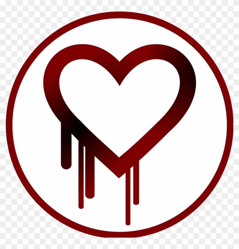 Simple Heart Bleed Sticker Type Patch - Simple Sticker #105269