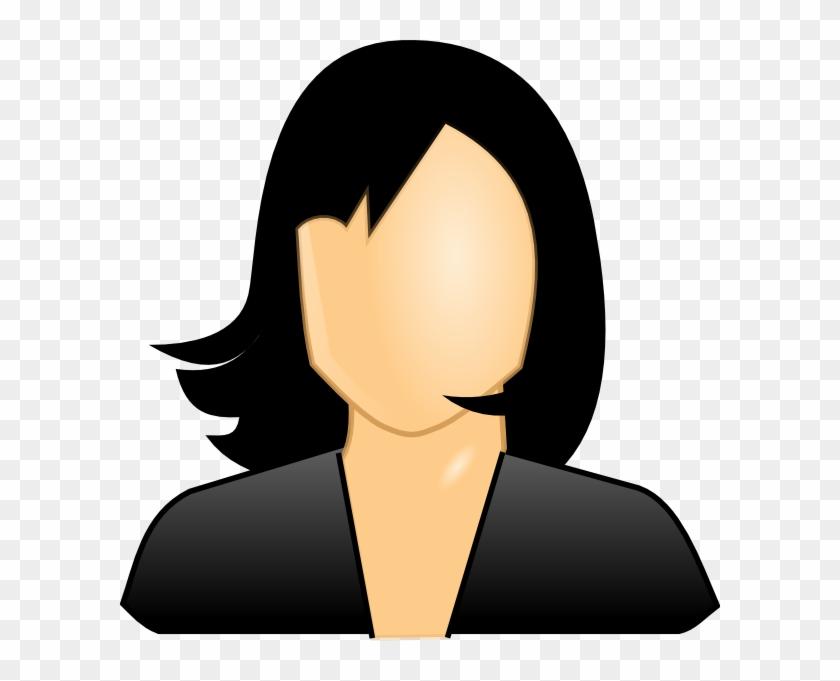 Please Specify Image Url - Black Hair Clipart #105339