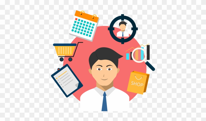 By Focusing On The Cooperation Between Retail Managers - Store Manager Clipart #105354