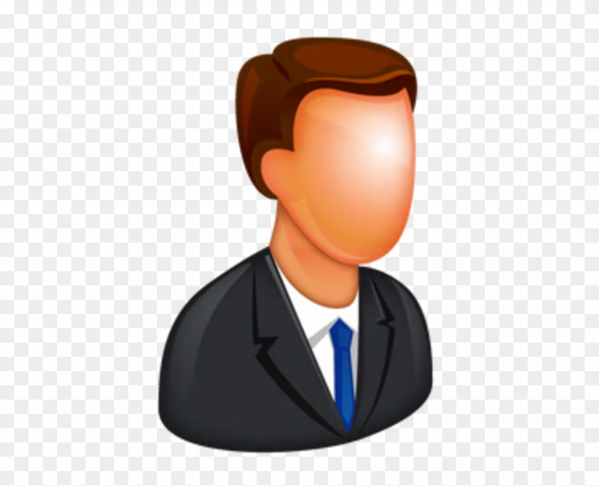 Caucasian Boss Icon - Human Icon Png #105426
