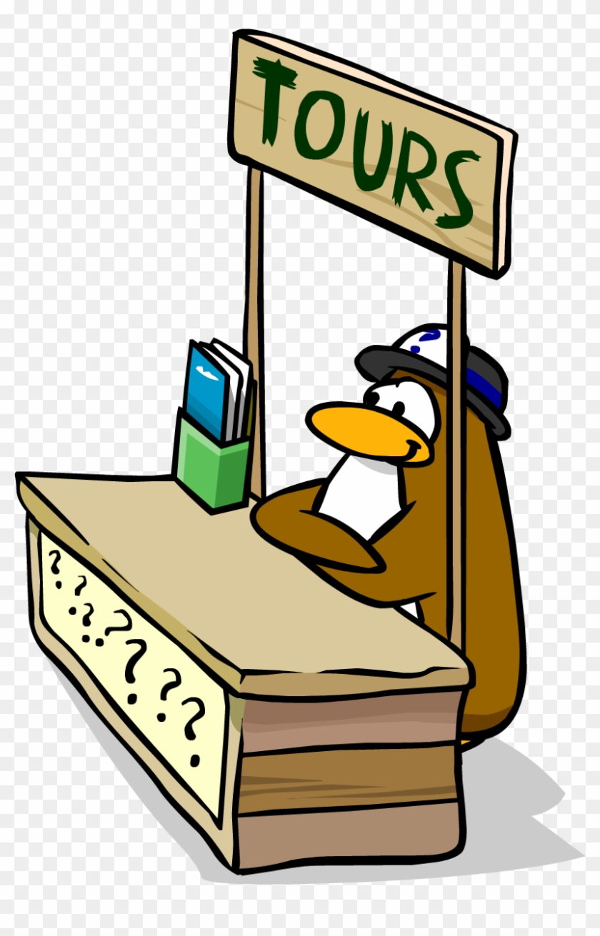 List Of Synonyms And Antonyms Of The Word - Tour Guide Club Penguin #105445