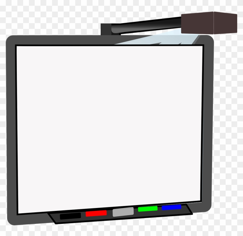 Free Whiteboard Clip Art - Whiteboard Clipart #105474