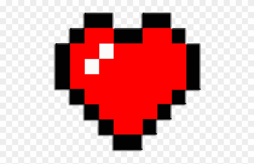 Zelda Clipart Minecraft - Minecraft Heart Png #105499